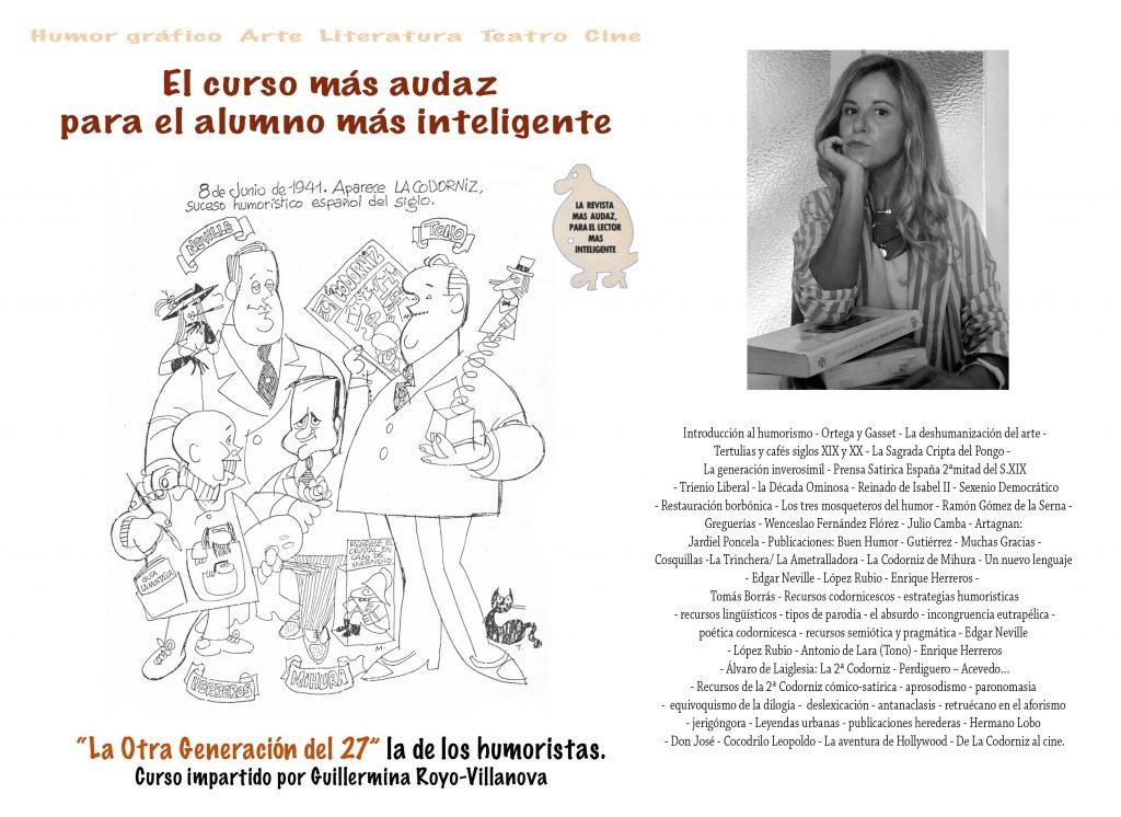 """Curso """"La Otra Generación del 27"""". Guillermina Royo-Villanova"""